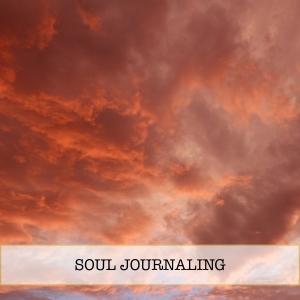 soul journaling home page menu